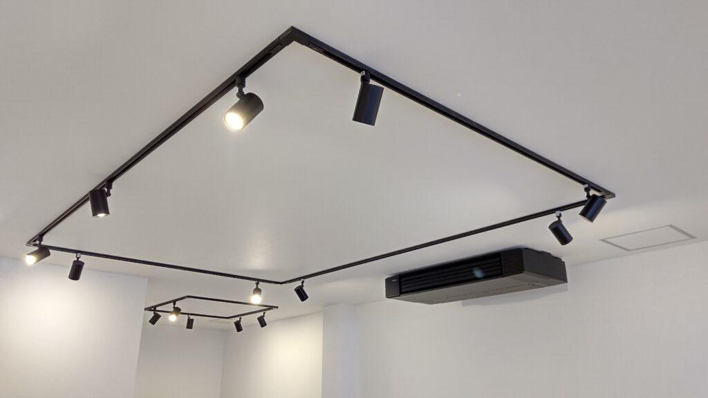 テナント照明、空調、設計・施工